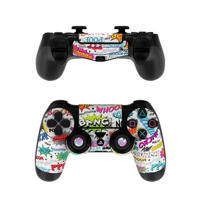 Sony PS4 Controller Skin - Comics
