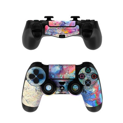 Sony PS4 Controller Skin - Cosmic Flower