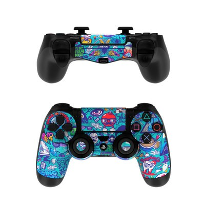 Sony PS4 Controller Skin - Cosmic Ray
