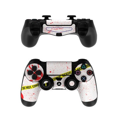 Sony PS4 Controller Skin - Crime Scene Revisited