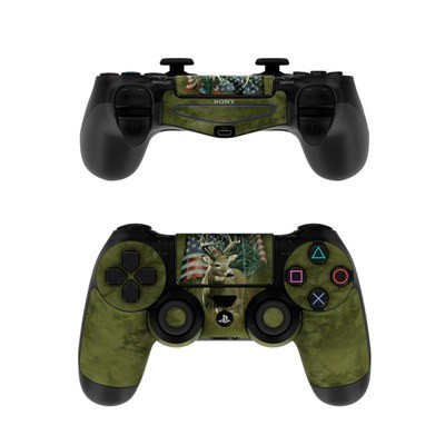 Sony PS4 Controller Skin - Deer Flag