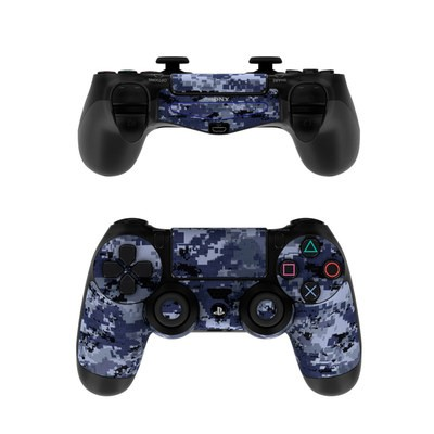 Sony PS4 Controller Skin - Digital Navy Camo