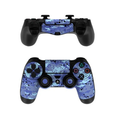 Sony PS4 Controller Skin - Digital Sky Camo