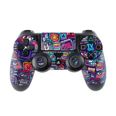 Sony PS4 Controller Skin - Distraction Tactic