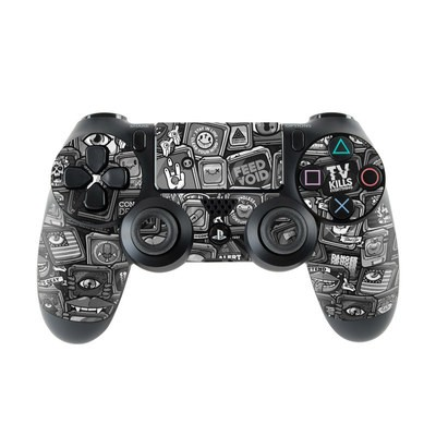 Sony PS4 Controller Skin - Distraction Tactic B&W