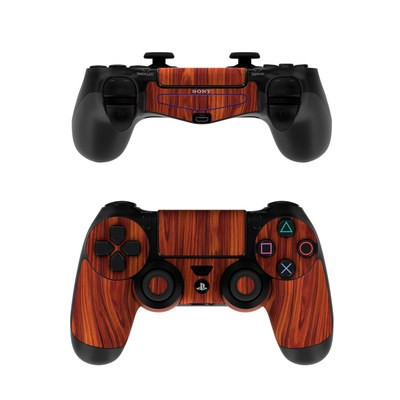 Sony PS4 Controller Skin - Dark Rosewood