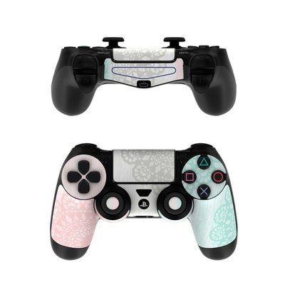 Sony PS4 Controller Skin - Doily