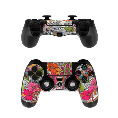 Sony PS4 Controller Skin - Doodles Color