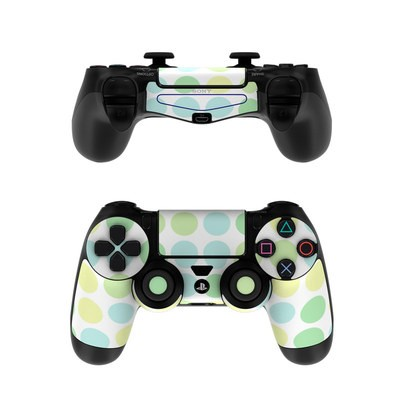 Sony PS4 Controller Skin - Big Dots Mint