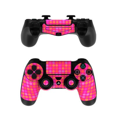Sony PS4 Controller Skin - Dots Pink