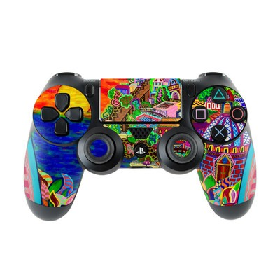 Sony PS4 Controller Skin - Dreaming In Italian