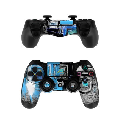Sony PS4 Controller Skin - Dripping Walls