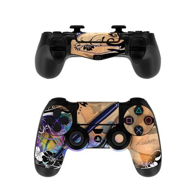 Sony PS4 Controller Skin - Dream Flowers