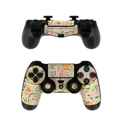 Sony PS4 Controller Skin - Effloresce