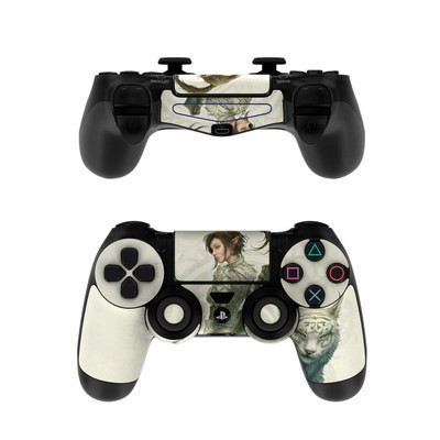 Sony PS4 Controller Skin - Half Elf Girl