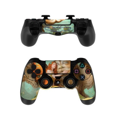Sony PS4 Controller Skin - Fairy and Owl