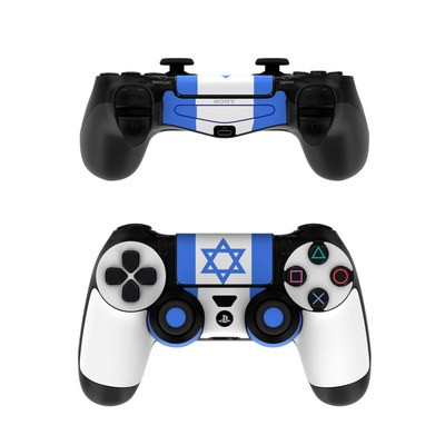 Sony PS4 Controller Skin - Israel Flag