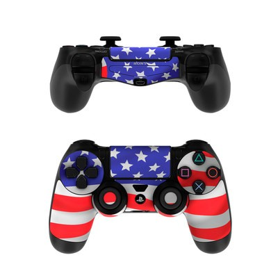 Sony PS4 Controller Skin - USA Flag