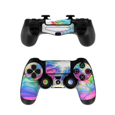 Sony PS4 Controller Skin - Flashback