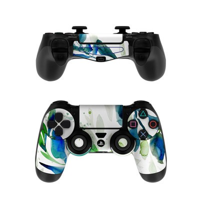 Sony PS4 Controller Skin - Floating Leaves
