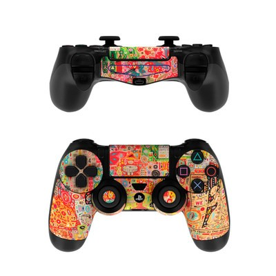Sony PS4 Controller Skin - Flotsam And Jetsam