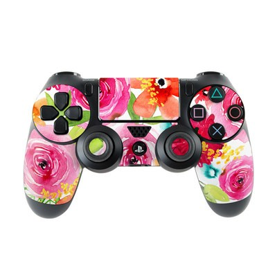 Sony PS4 Controller Skin - Floral Pop