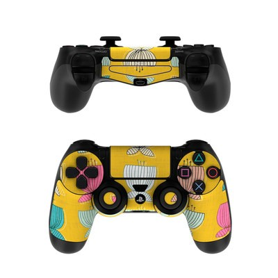 Sony PS4 Controller Skin - Flower Cups