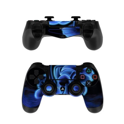Sony PS4 Controller Skin - Fluorescence Blue