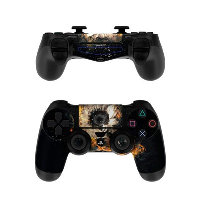 Sony PS4 Controller Skin - Flower Fury