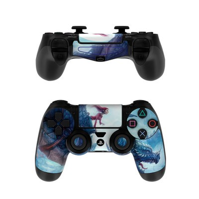 Sony PS4 Controller Skin - Flying Dragon