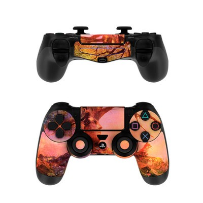 Sony PS4 Controller Skin - Fox Sunset