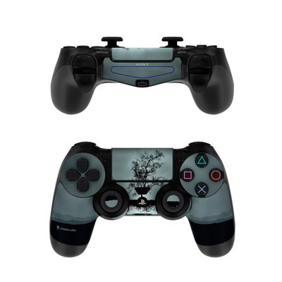 Sony PS4 Controller Skin - Flying Tree Black