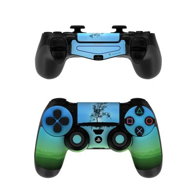 Sony PS4 Controller Skin - Flying Tree Blue