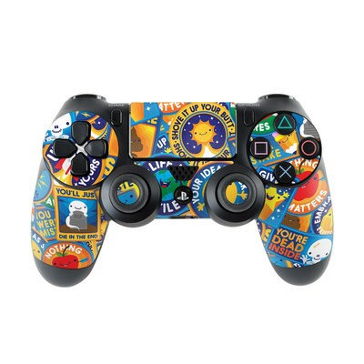 Sony PS4 Controller Skin - Eff Right Off