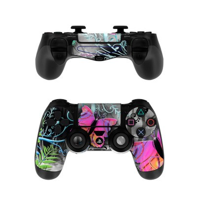 Sony PS4 Controller Skin - Goth Forest