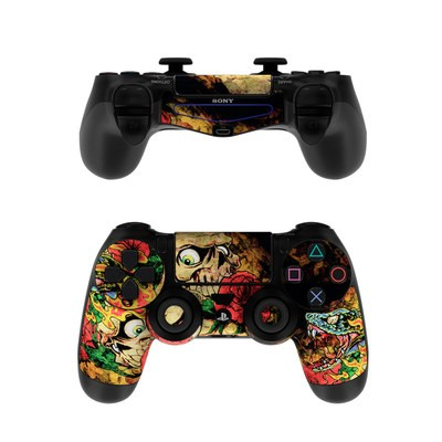 Sony PS4 Controller Skin - Gothic Tattoo