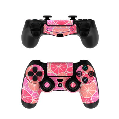 Sony PS4 Controller Skin - Grapefruit