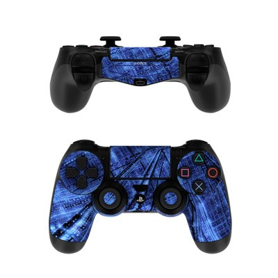 Sony PS4 Controller Skin - Grid