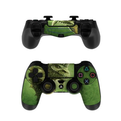 Sony PS4 Controller Skin - Green Dragon