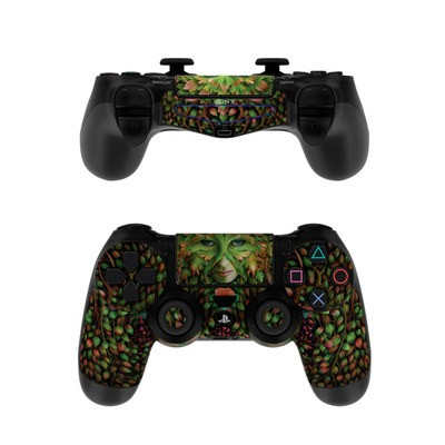 Sony PS4 Controller Skin - Green Woman