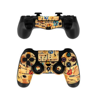 Sony PS4 Controller Skin - Guitar Collage