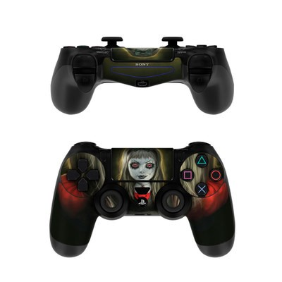 Sony PS4 Controller Skin - Haunted Doll