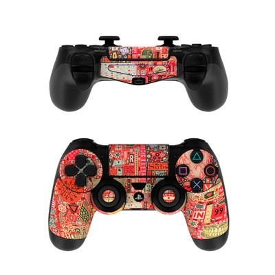 Sony PS4 Controller Skin - Heart and Teeth