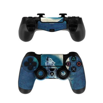 Sony PS4 Controller Skin - Howling Moon Soloist