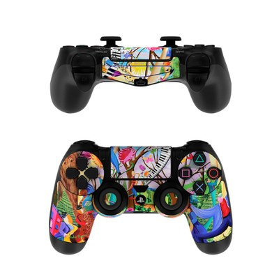 Sony PS4 Controller Skin - Happy Town Celebration