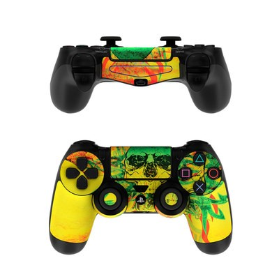 Sony PS4 Controller Skin - Hot Tribal Skull