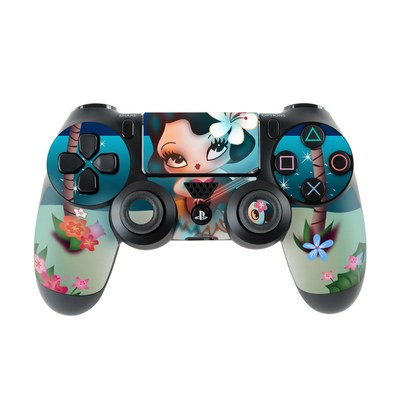 Sony PS4 Controller Skin - Hula Night