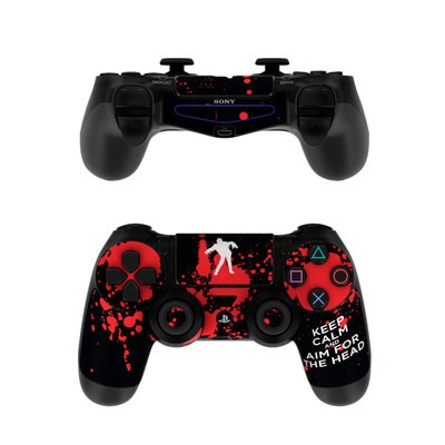 Sony PS4 Controller Skin - Keep Calm - Zombie