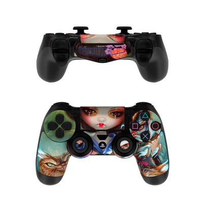 Sony PS4 Controller Skin - Kirin and Bakeneko