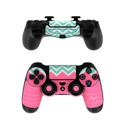 Sony PS4 Controller Skin - Live Laugh Love